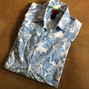 MEN'S Claiborne Casual button-down shirt, size L